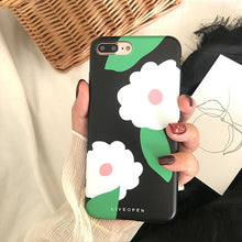 Load image into Gallery viewer, Flower Design iPhone Case