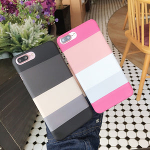 Stripe Pattern Case