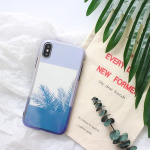 Exotic Palm Tree Print Phone Case