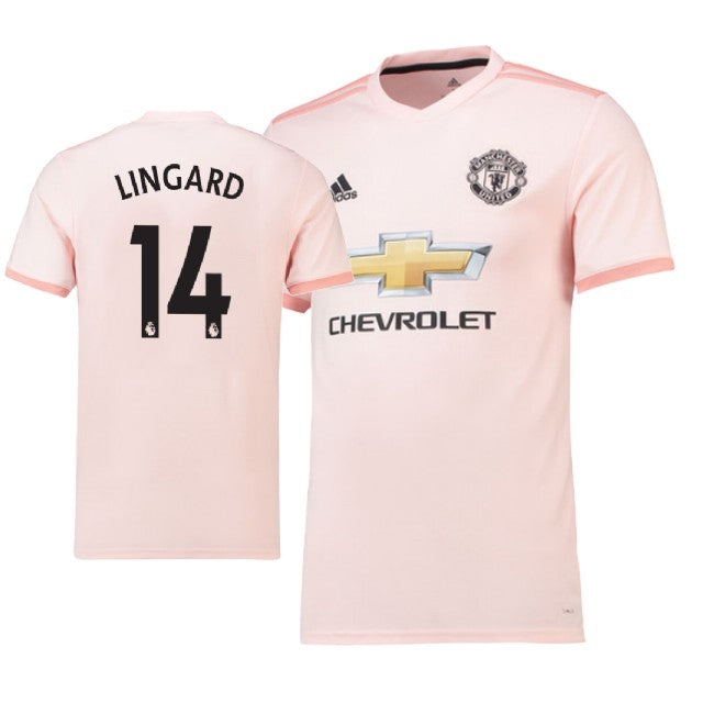 online store 8a91f 8c7dc Manchester United 18/19 Away Jesse Lingard