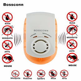 Ultrasonic & Electromagnetic Pest Repeller