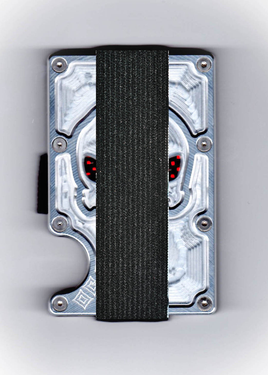 Vengeance - Cyborg GOAT - Aluminum & Colored Carbon Fiber Wallet
