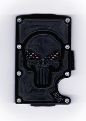 Vengeance - Stealth Cyborg GOAT - Black Polymer & Colored Carbon Fiber Wallet