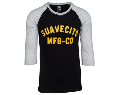 Suavecito El Mirage Baseball Tee - Black