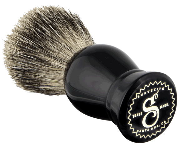 Suavecito Black Resin Shave Brush