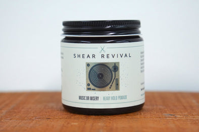 Shear Revival Music or Misery Heavy Hold Pomade