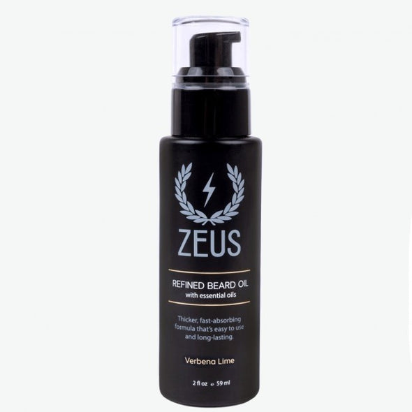 Zeus Refined Beard Oil - Verbena Lime
