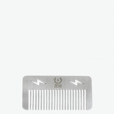 Zeus Stainless Steel Comb Pocket Size