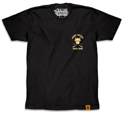Vixen & Beard x Johnny Cupcakes T - Shirt