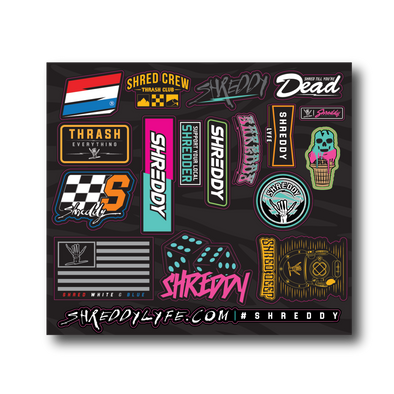 Shreddy Mega Sticker Pack