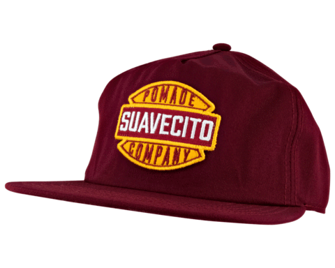 Suavecito Garage Hat - Burgundy