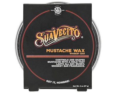 Suavecito Mustache Wax - Whiskey Bar