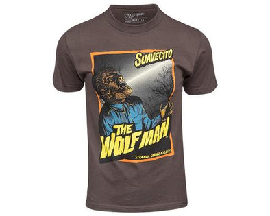 Suavecito X The Wolf Man Tee