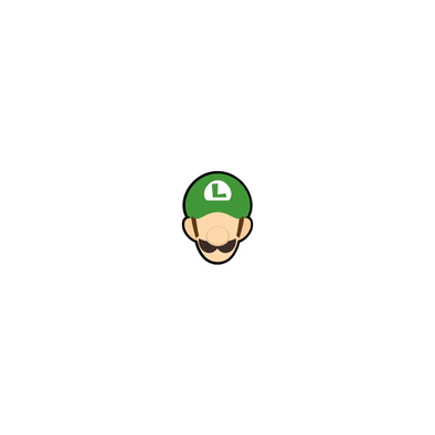 Pin Plugged Smash Stock - Luigi