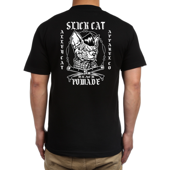Alley Cat x Slick Cat Pomade Tee