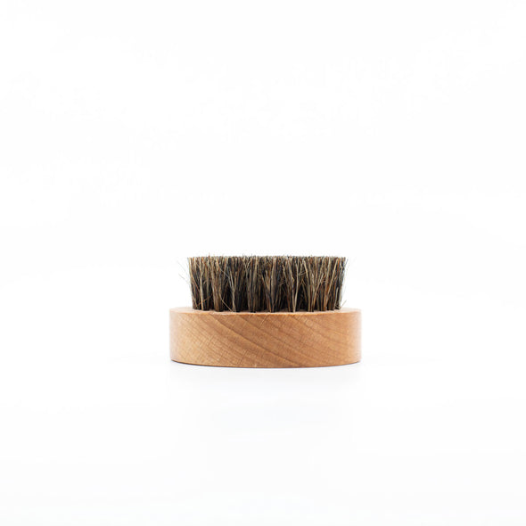 Vixen & Beard Beech Wood Round Beard Brush