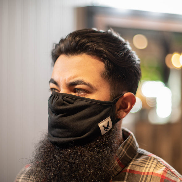 Vixen & Beard Poly Cotton Face Mask