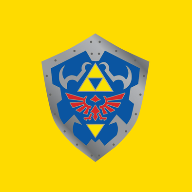 Pin Plugged Hylian Shield Pin