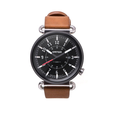 Dango TK-01 - Trek Watch With Horween Leather Straps