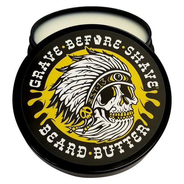 Grave Before Shave Beard Butter Teakwood