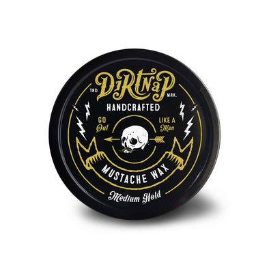 Dirtnap Mustache Wax - Medium Hold