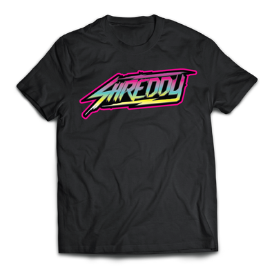 Shreddy Neon Logo Shirt