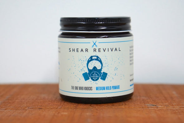 Shear Revival The One Who Knocks Medium Hold Pomade