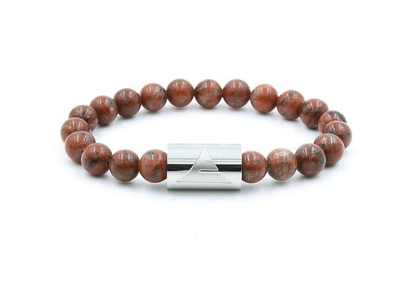 Everwood Rocky - Red Sesame Jasper Bracelet