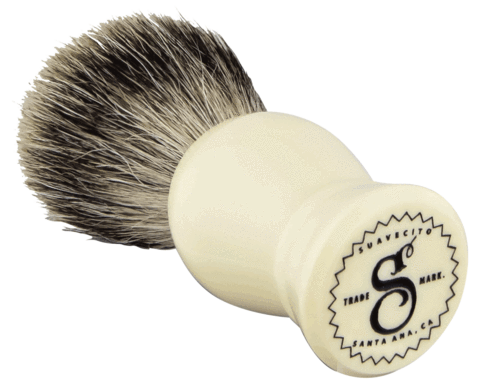 Suavecito Ivory Resin Shave Brush