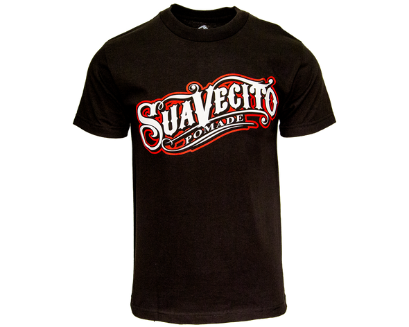Suavecito OG Black W/ Red Tee