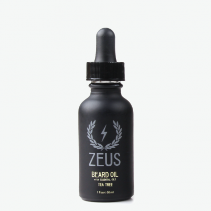 Zeus Natural Beard Oil - Tea Tree