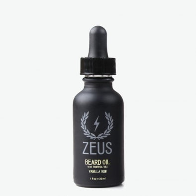Zeus Natural Vanilla Rum Beard Oil