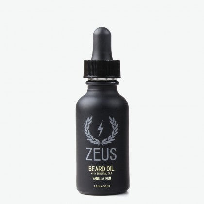 Zeus Natural Beard Oil - Vanilla Rum