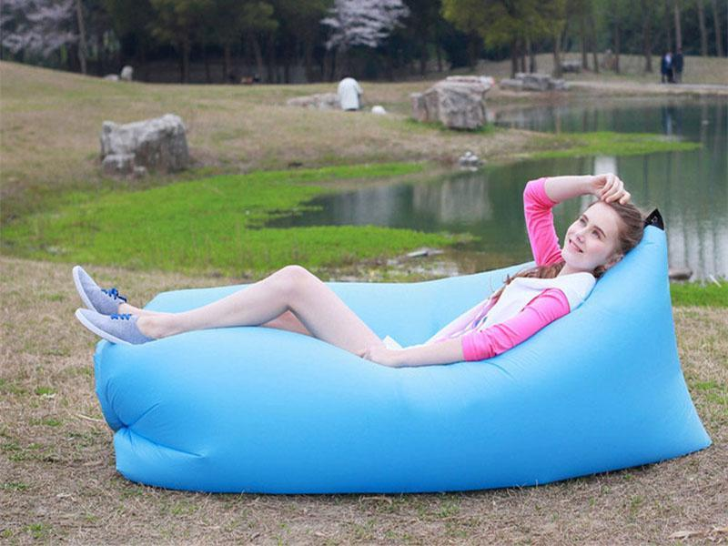 No air pump required--Outdoor portable sofa bed