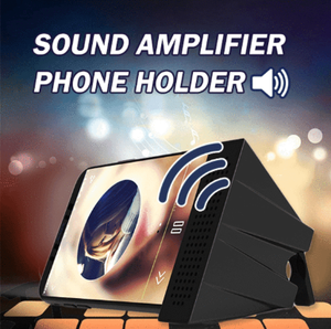 Portable Sound Amplifier Phone Holder