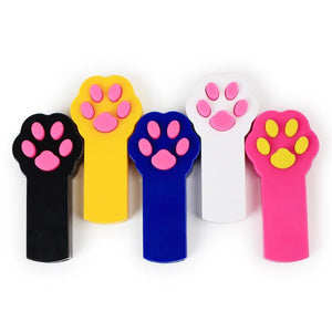 Paw Style Dog Cat Catch the Interactive LED Light Pointer