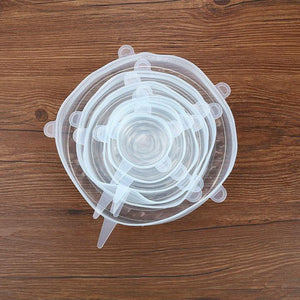 Reusable Stretch & Seal Lids (6 Pieces)