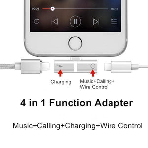 60% OFF 4 in 1 Function Lightning Adapter for iPhone