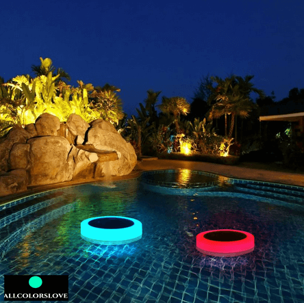Solar Swimming Pool LED Light