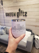 Load image into Gallery viewer, Grand Rapids Skyline Wine Tumbler