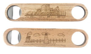 Wood Bottle Opener - Grand Rapids Only!