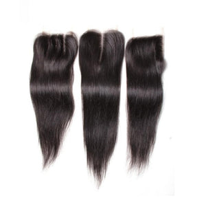 Brazilian Straight 4x4 Lace Closure