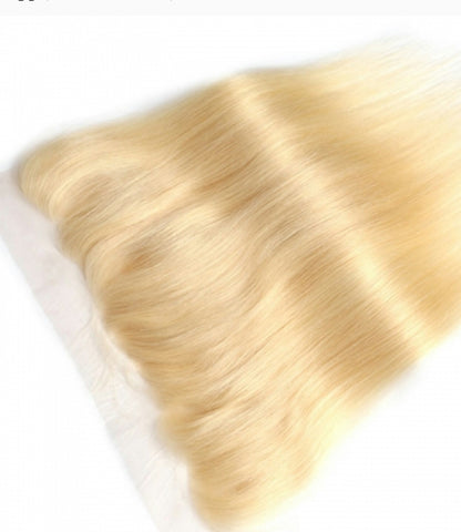 Russian Blonde Lace Frontal (Straight)