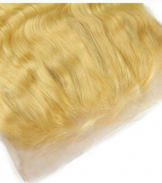 Russian Blonde Lace Frontal (Body Wave)