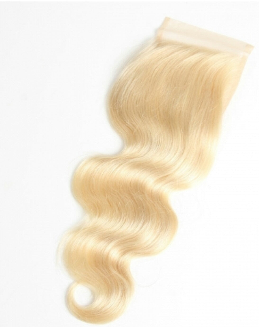 Russian Blonde 4x4 Silk Closure (Body Wave)