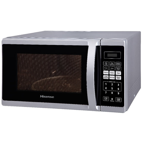 Hisense H28MOMME 28 Litre Silver Microwave