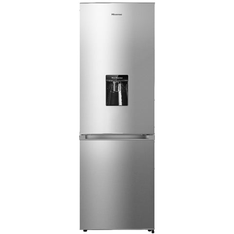 Hisense H299BI-WD Inox Fridge with Water Dispenser