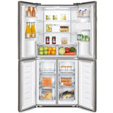 Hisense H520FI-WD Inox Fridge with Water Dispenser