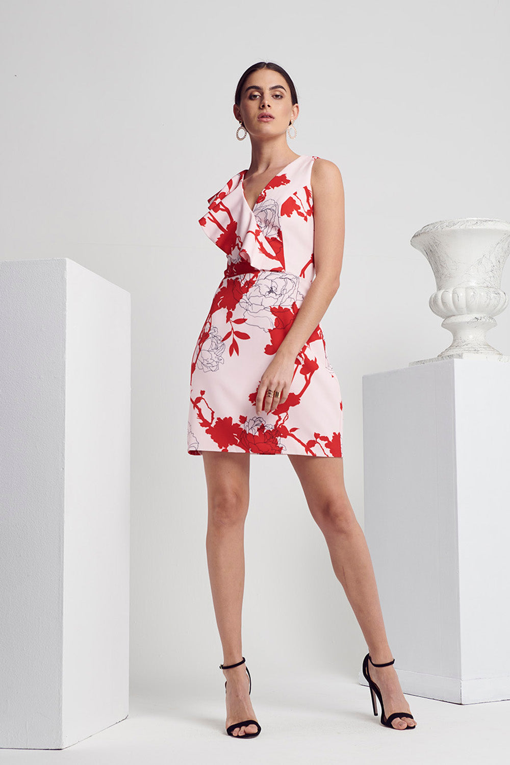 CALIBRE FLORAL DRESS