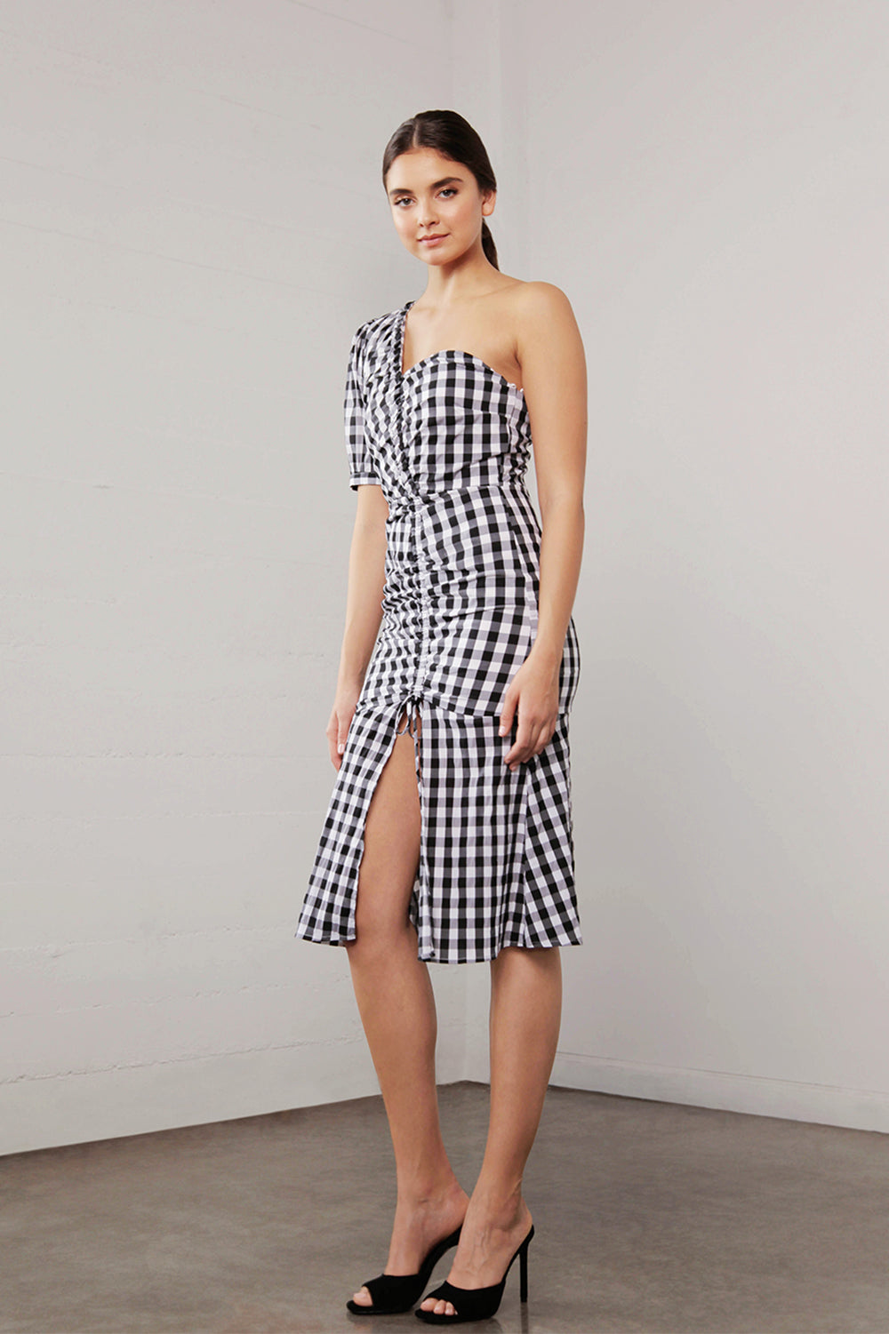 UTOPIA GINGHAM ONE/SH DRESS